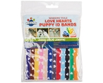 Puppy and Kitten Collars Love Hearts Design