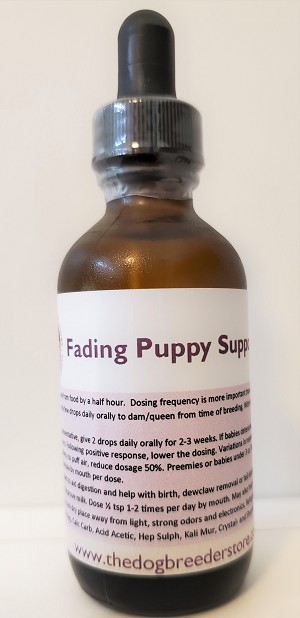 Fading Puppy Support Bottle